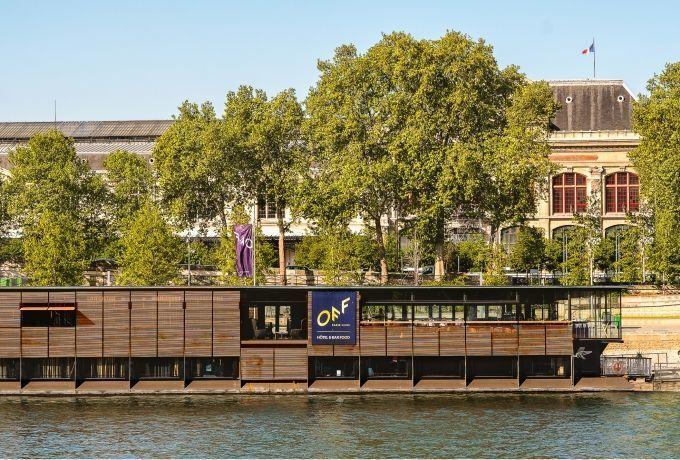 Off Seine, das erste schwimmende Hotel in Paris
