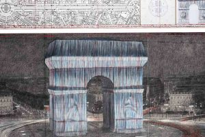 Christo Paris Arc de Triomphe 2020