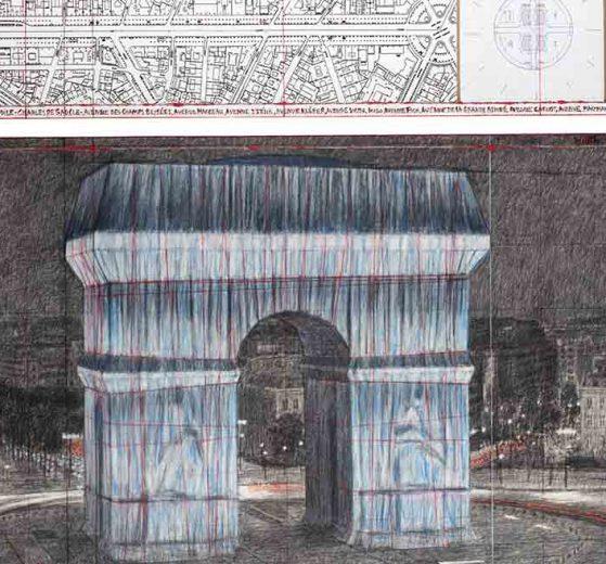 Christo Paris Arc de Triomphe 2020